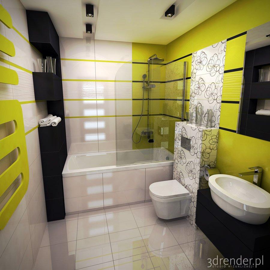 Nowoczesna łazienka 1 3drenderpl Studio Wizualizacji I Grafiki